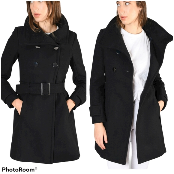 Aritzia Jackets & Blazers - T. Babaton Double Breasted Wool Cashmere Coat